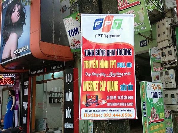 Biển quảng cáo fpt Văn Giang
