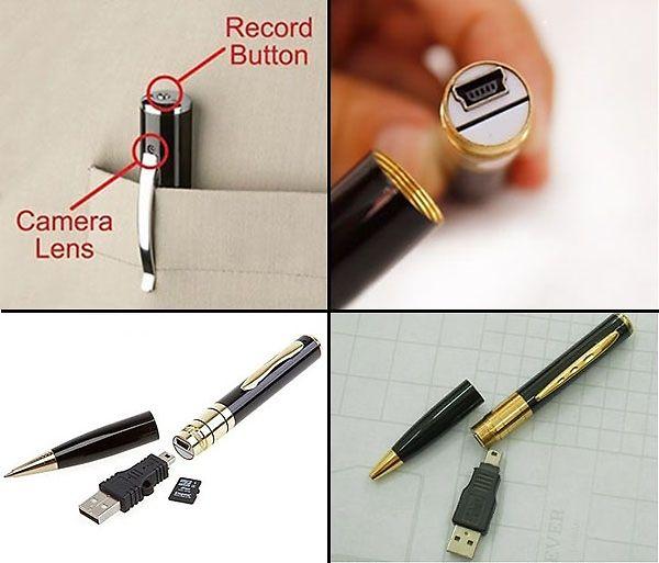 Camera hình cây viết