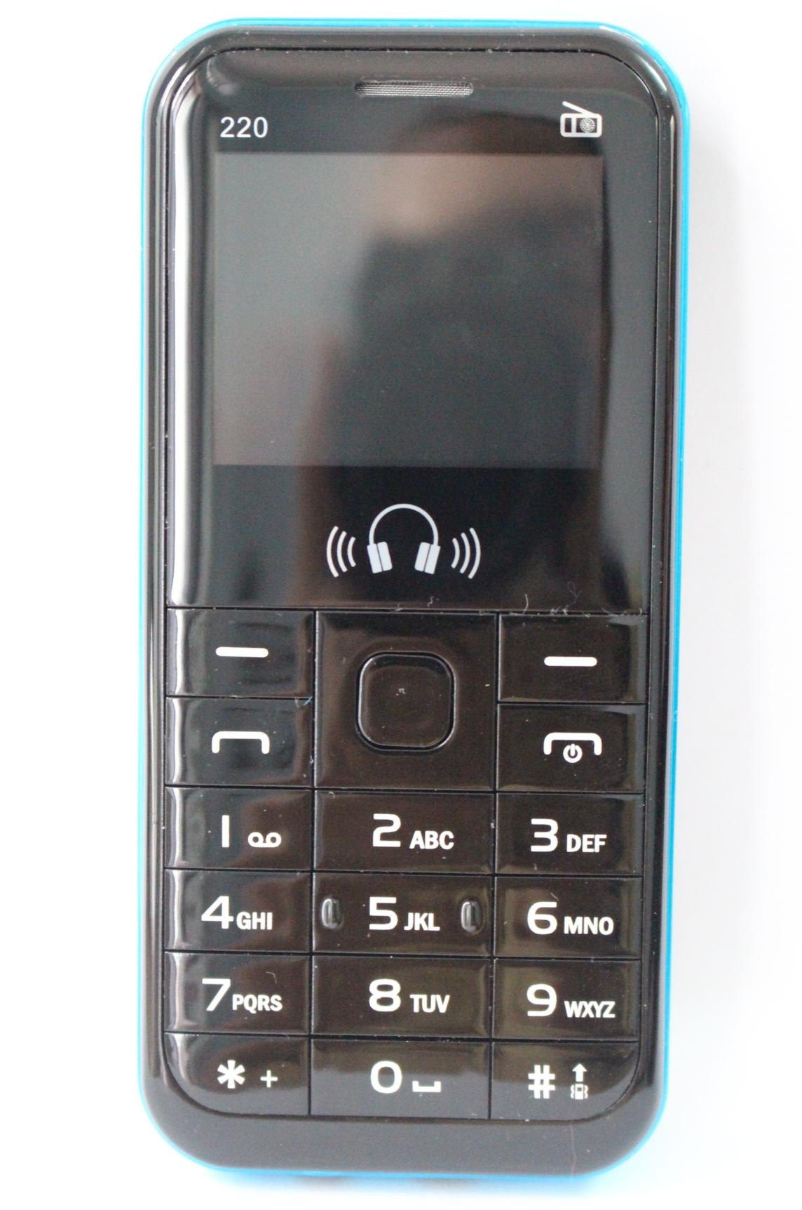 Điện thoại dành cho người già 220