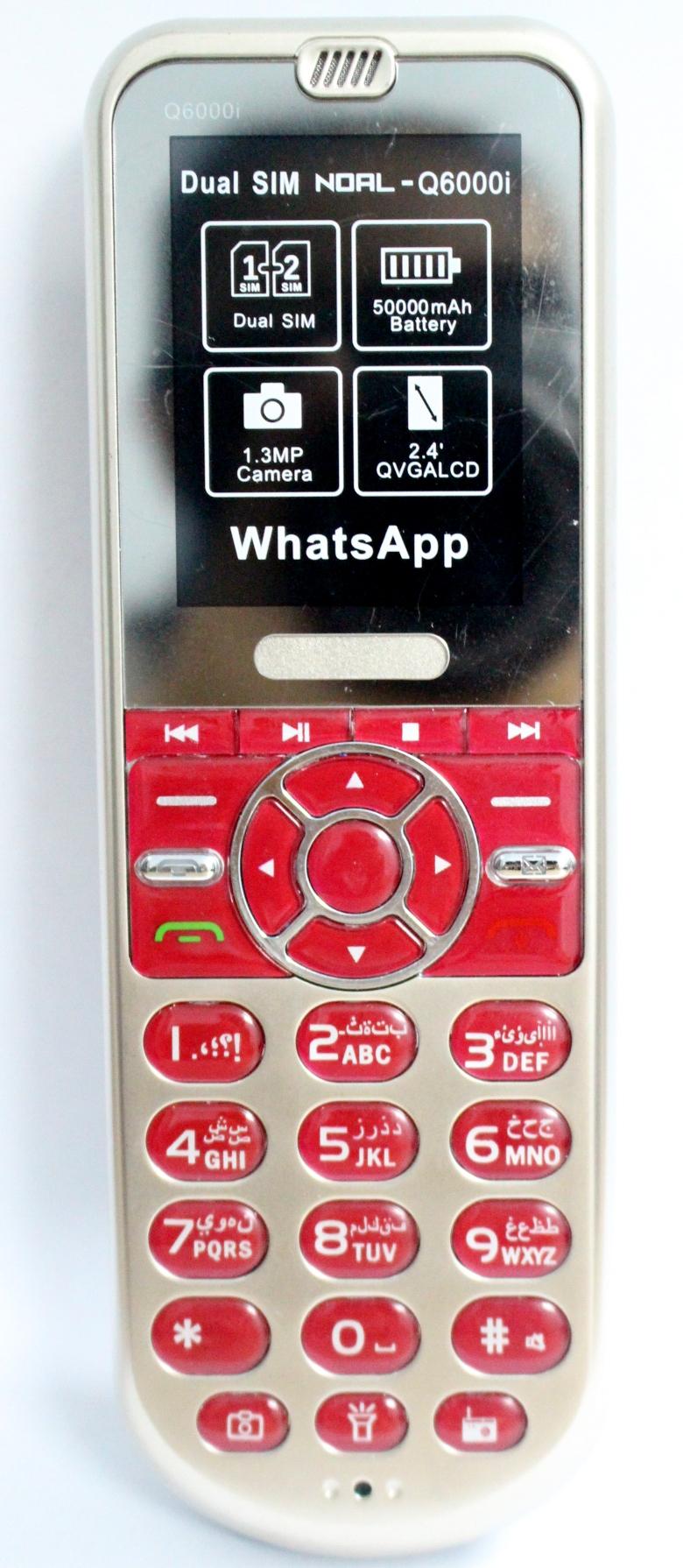 Điện thoại pin khủng Q600i