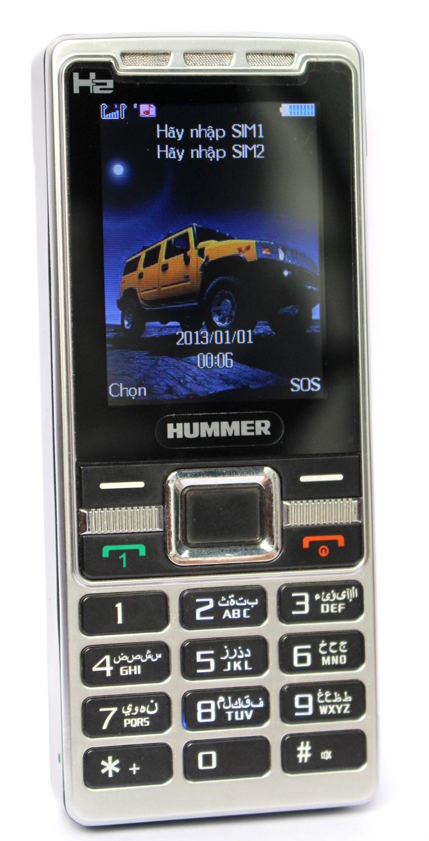 Điện thoại Hummer H2 Led