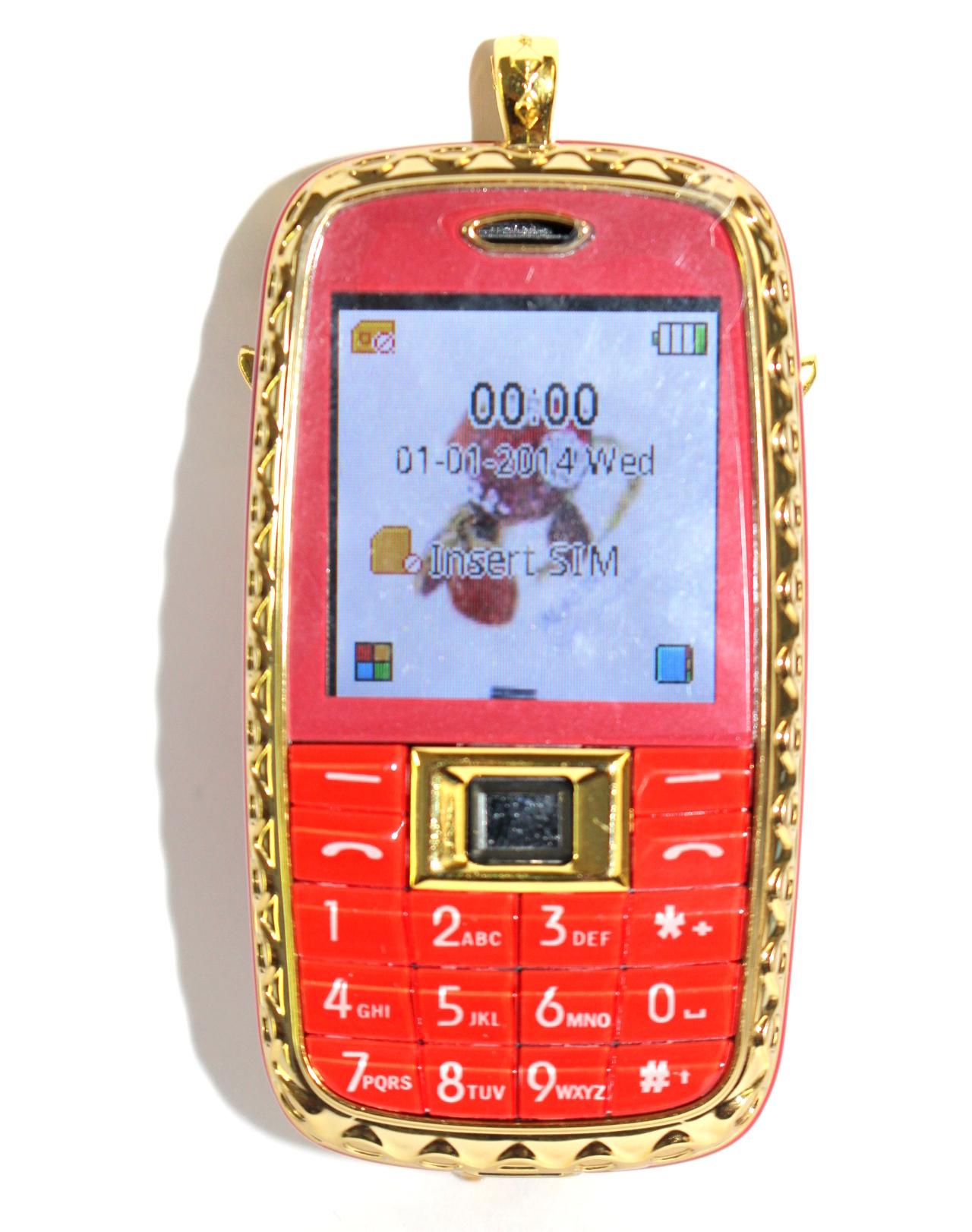 Điện thoại hình cón cú đính đá N118