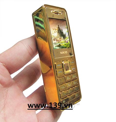 Điện thoại hình thỏi vàng N999