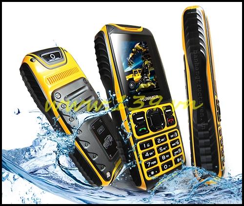 Điện thoại Hummer H2 chống nước, 2 sim, siêu bền
