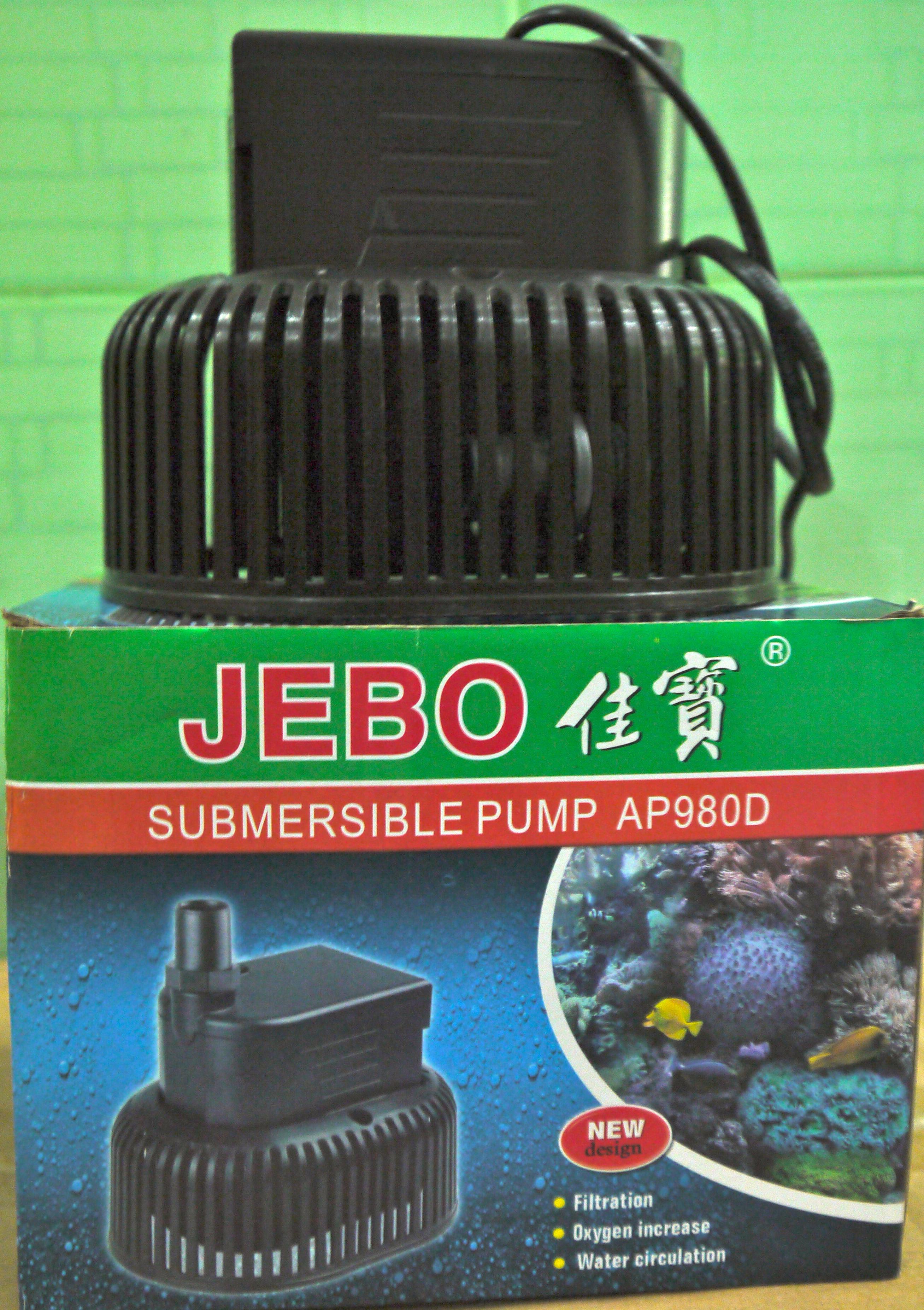 Máy Bơm hồ cá cảnh JEBO (Model: AP-980D)