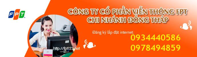 Internet FPT Đồng Tháp