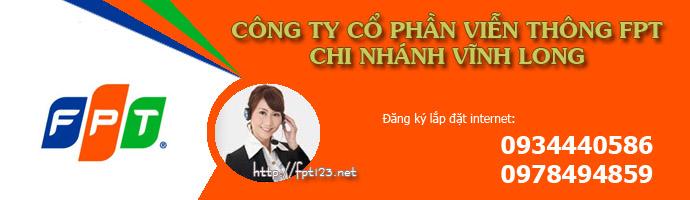 Tổng đài lắp đặt internet FPT Vĩnh Long