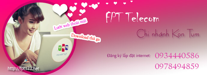 Internet FPT Kon Tum
