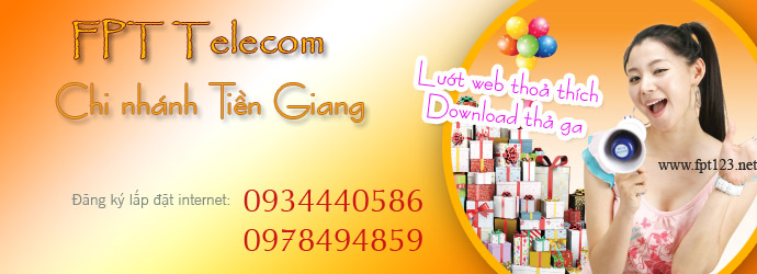 Internet FPT Tiền Giang