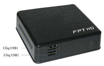 Mặt trước Bộ giải mã FPT Play HD