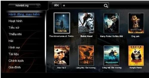 Chọn phim lưu trữ