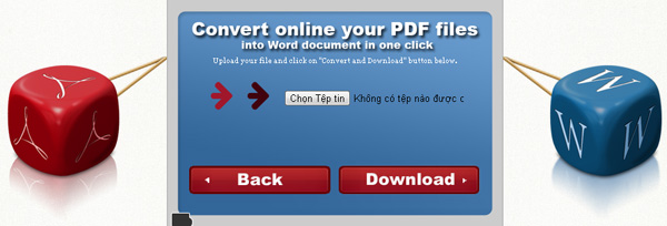 Convert PDF to WORD bước 3