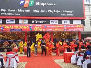 Địa chỉ FPT Shop Việt Trì, Phú Thọ