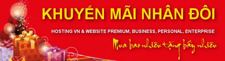 Khuyễn mãi domain hosting
