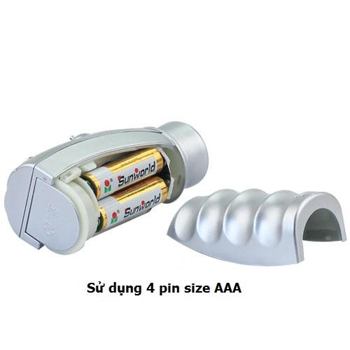 Bộ điều khiển sử dụng 4 pin Size AAA