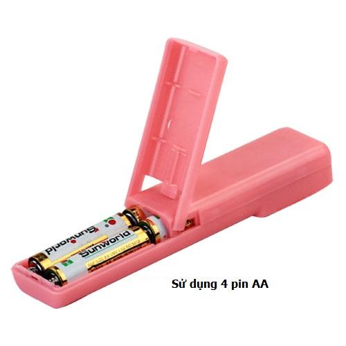 Bộ điều khiển rung hỗ trợ sử dụng 4 pin AA