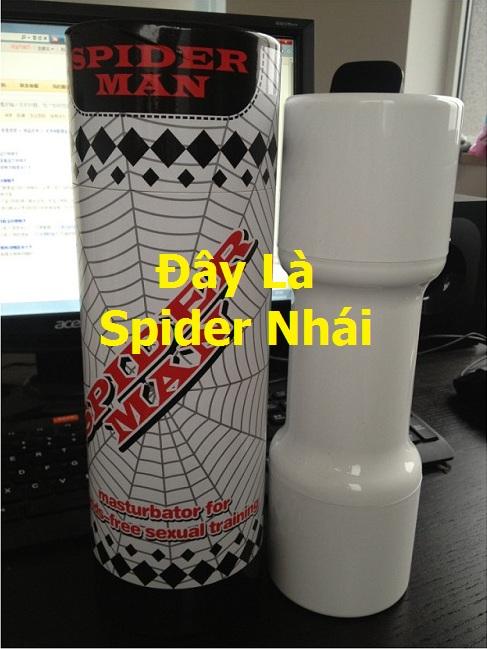 Hình ảnh sản phẩm Spider nhái trên thị trường