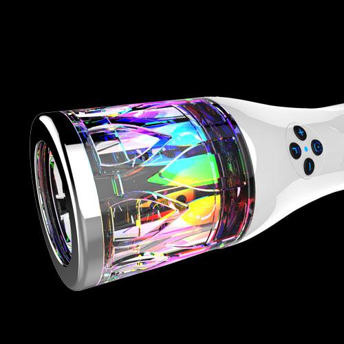 Đèn Led 7 màu tích hợp bên trong sản phẩm
