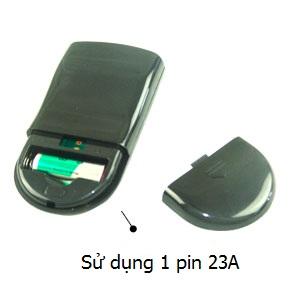 bộ điều khiển sử dụng 1 pin 23A