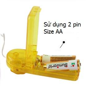 Bộ điều khiển trứng rung đơn sử dụng 2 pin AA