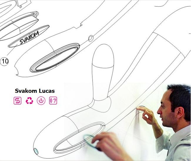 Svakom Lucas được tạo ra từ những nhà thiết kế hàng đầu thế giới