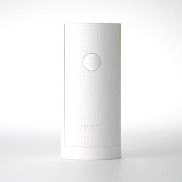 Màu trắng đẹp mắt của sản phẩm Tenga Flip Air Lite Melty While