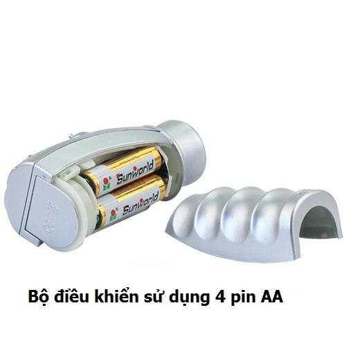 Bộ điều khiển sử dụng 4 pin AA