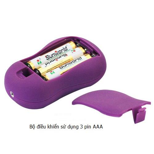 Trứng rung sử dụng 3 pin AAA