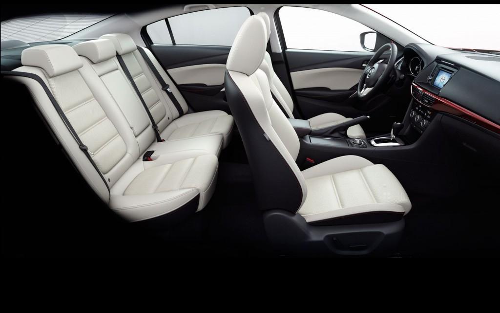 Nội thất của Mazda 6