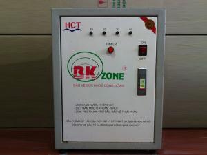 Máy BK Ozone làm sạch không khí ô nhiễm