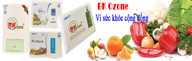 Tại sao bạn nên dùng máy ozone khử độc thực phẩm?