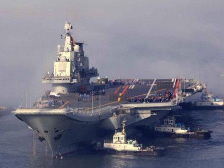 Trung Quốc đang phát triển lò phản ứng hạt nhân cho tàu sân bay?