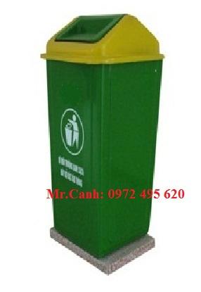 Thùng rác composite 90 lít