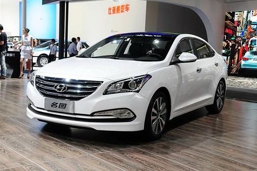 Hyundai lộ diện chiếc sedan hoàn toàn mới