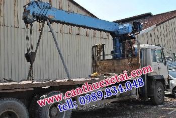 dịch vụ cho thuê xe cẩu chở hàng tại hà nội