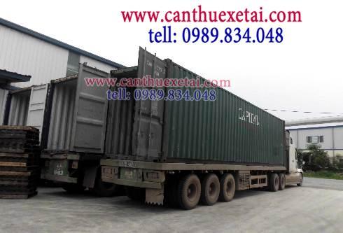 cho thuê xe Container