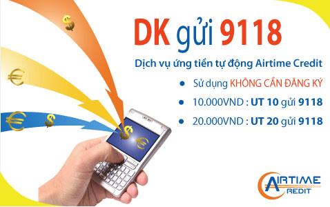 Dịch vụ Ứng tiền tự động - Airtime Credit
