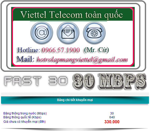 FTTH Fast30 30Mbps