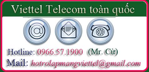 Liên Hệ lắp mạng Viettel