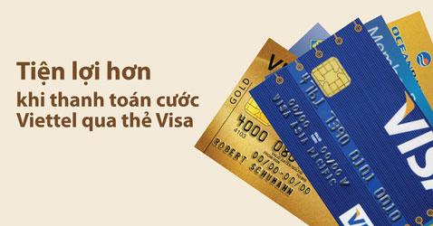 Thanh toán cước Viettel