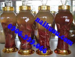 Phương pháp ngâm rượu nhung hươu hoặc nhung nai