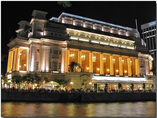 Nét Đẹp Cổ Điển Của Khách Sạn The Fullerton Hotel Singapore