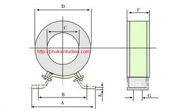 Biến dòng tròn RCT-35, RCT-60, RCT-90, RCT-110