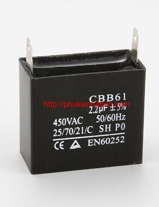 Tụ quạt - CBB61
