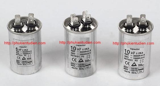 Tụ nhôm - Tụ ngậm - CBB65 - Tụ máy lạnh - Tụ máy nén khí