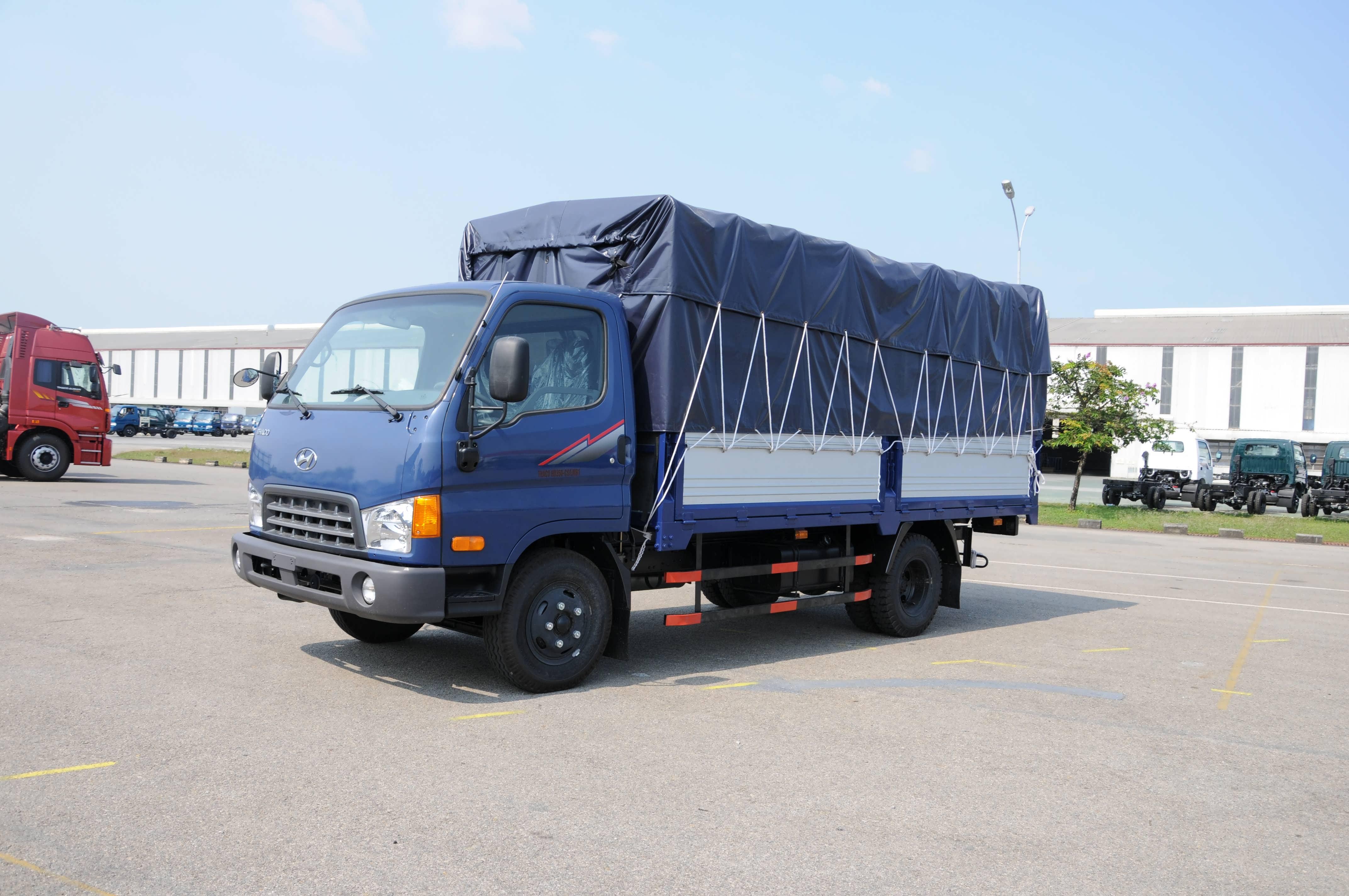 Xe tải Hyundai HD350 3,5 tấn