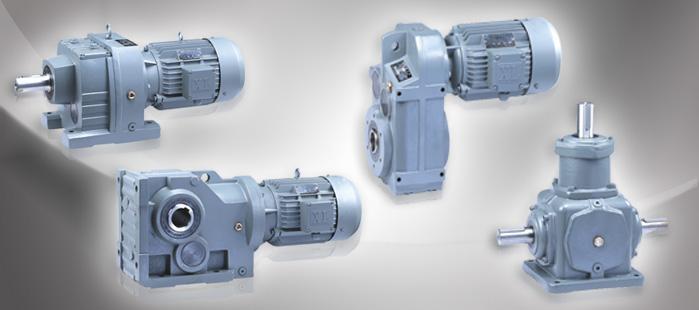 gear motor size R,F,K,S