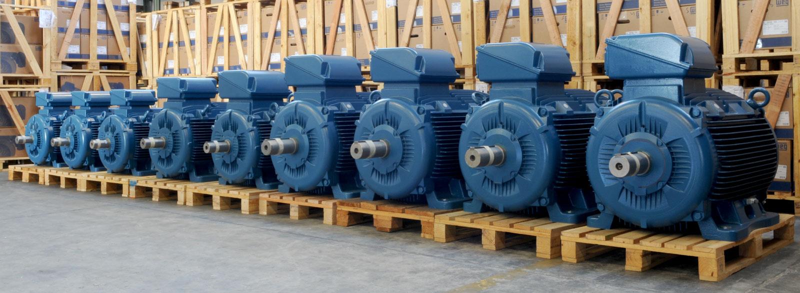 Động cơ AC , DC WEG