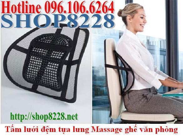 Đệm lưới tựa lưng dùng cho ghế văn phòng tiện ích 096. 106. 6264