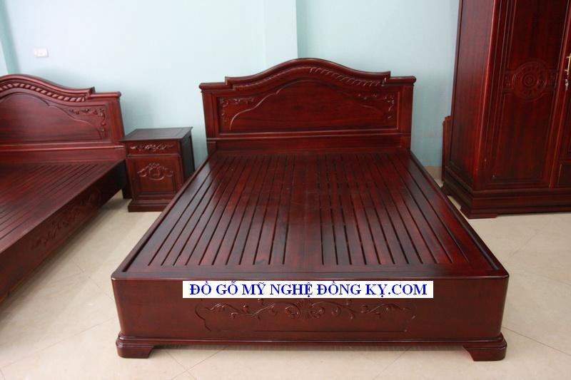 Giường ngủ gỗ đồng kỵ